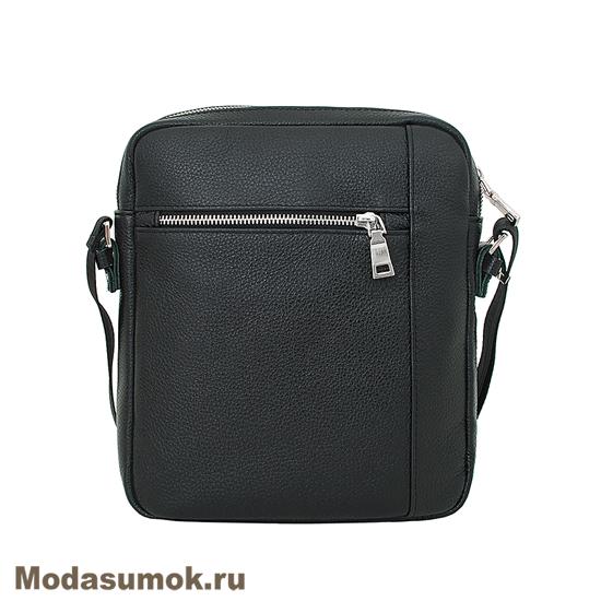 70b951c43f81 Сумка-планшет мужская из натуральной кожи Protege Ц-327 черная ...